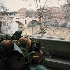 Beauty both sides #beautiful #rome #tiber... (joyaofchiba) Tags: rome window beautiful tiber tevere eternal vsco vscocam uploaded:by=flickstagram vscophoto instagram:venuename=rome2citaly instagram:venue=31499759 instagram:photo=1230648978539079761399195313