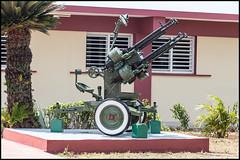Anti-aircraft Gun (John R Chandler) Tags: military cuba places playagirn bayofpigs antiaircraftgun peninsuladezapata museogirn