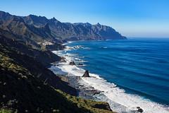 Jagged coast (Arne Kuilman) Tags: ocean water coast waves tenerife kust canaryisland explored inexplore