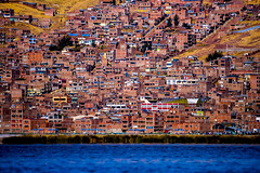 Mankind's nests (explored 23 July 2016) (Mustafa Kasapoglu) Tags: urban urbanlife concrete habitat puno titicaca peru civilisation
