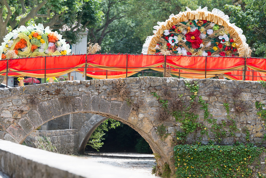 Fête du Pont 2016 - Le foulage du blé