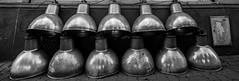 En srie (Mathieu Thiebaut | http://www.mathieuthiebaut.com) Tags: lumire lampe spot urbain urban outdoor panorama street rue strasse road lightroom explore monochrome photo pic bw nb noir blanc black white sony alpha a99 alpha99