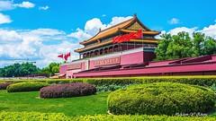 Blue Sky over the Forbidden City (   (Thank you, my friends, Adam!) Tags: adamzhang  nikon dslr    lens macro closeup fine art photography photographer excellent gallery blue sky forbidden city   china   beijing world100f