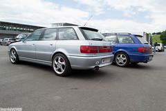 Audi RS2 (Patrick2703) Tags: blue cars silver austria audi avant rs2 spielberg worldcars redbullring