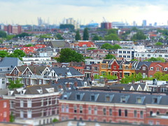 tiltshifted Rotterdam (the world according to Chantal) Tags: city rotterdam harbour tiltshift