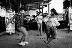 Lindy hop [Explore] (BuRegreg) Tags: street city urban musician music wow calle spain streetphotography ciudad explore urbana streetphoto baile musicos albacete castillalamancha 2016 callejera musico estoesloqueveo