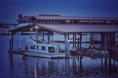 Marina at Dawn (amarilloladi) Tags: blue water marina river boats dawn washington columbiariver pacificnorthwest cloverisland