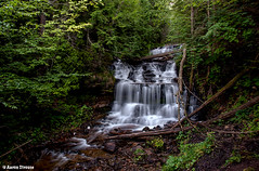 wagner falls, Munising, MI (ats8110) Tags: wagnerfalls mining michigan d700 nikon waterfalls
