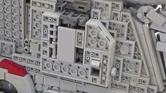 Millennium Falcon - Landing gear (video) (Inthert) Tags: millennium falcon star wars lego moc mod 4504 ship han solo chewbacca system scale exterior landing gear