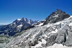 Le Front du Glacier Blanc (Yaxara) Tags: world blue mountain france ice nature rock wonderful landscape outdoor extreme glacier mountainside glacial