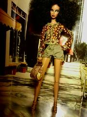 Octavia (krixxxmonroe) Tags: ira d ryan krixx monroe styling brown black latino mixed race family fashion royalty live wire mini clone fierce fabulous dramtic diva avant garde dolls