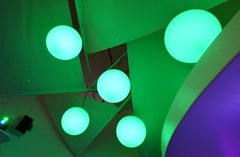 Planets (pandorahoshii) Tags: abstract shapes round green spherical neon bright