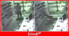 Robber Face Plants into Glass Door (ViralAIO) Tags: faceplants glassdoor robber