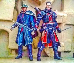 #shay #cormac #haytham #Kenway #assassinscreed #rogue #templars #sails #northatlantic #rivervalley #mcfarlanetoys  #instatoys #toygraphyid #actionfigure #toypic #toyphotography #collage #toycommunity #plasticcrack #toys #photo #toycollector #toycollection (Geek75sg) Tags: instagramapp square squareformat iphoneography uploaded:by=instagram skyline shaycormac haythamkenway assassinscreed rogue templars sails northatlantic rivervalley mcfarlanetoys
