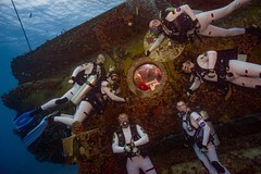 Aquanauts Splash Down, Beginning NEEMO 21 Research Mission (NASA's Marshall Space Flight Center) Tags: nasa nasasmarshallspaceflightcenter nasamarshall journeytomars neemo nasaextremeenvironmentmissionoperations