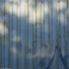 urban evening mood (Furcletta) Tags: blue light sunset shadow urban sunlight yellow wall grey switzerland outdoor che zuerich corrugated graphity 70200mm28gvrii