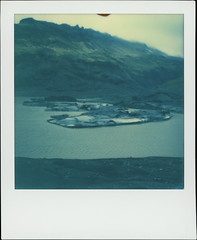 Slheimajkull 4 (sycamoretrees) Tags: 600 analog beta color600 color600201603 film glacier iceland impossible instantfilm integral integralfilm marianrainerharbach polaroid slr680 slheimajkull sland
