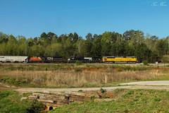 NS 174 at Oak (travisnewman100) Tags: norfolk southern train railroad freight manifest cp oak atlanta north district dallas georgia division cn canadian national sd70m2 sd9043mac c449w ge emd