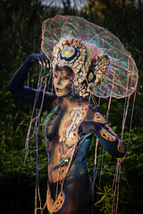 Late Light Glow (Alex M. Wolf) Tags: bodypainting body painting paint bodyart wbf wbf2016 alexmwolf canon eos5dmkiii prtschach poertschach carinthia colors color art