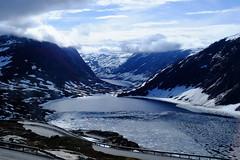 Djupvatnet Lake (DSLEWIS) Tags: norway norge geiranger geirangerfjord fjord hollandamerica cruise nibbevegen nibbevegenroad djupvatnet djupvatnetlake lake frozen frozenlake