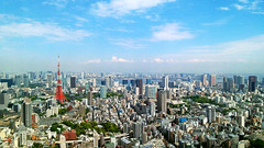 Tokyo City (picturesque-y) Tags: city tokyo japan tokyotower buildings sky scenery view fineview niceview architecture skyline outdoor