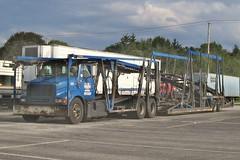 IH, DMT #105 (PAcarhauler) Tags: oldhp ih international semi carcarrier dmt truck trailer