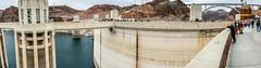 Hoover Dam Panorama (Serendigity) Tags: dam usa hooverdam desert water panorama nevada engineering coloradoriver arizona unitedstates