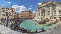 Rome - Trevi Fountain - Vacation 2016 (LG REALTY GROUP INC.) Tags: trevifountain fontana rome italy summer lunatravels family vacation europe photography cityscape streetphotography sony sonyimages sonya7ii lgphotography