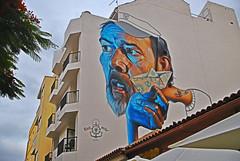 arte urbano (FMEGS) Tags: urban graffiti art pinture city hdr tenerife spain espaa flickr contrast decay nikon d3000 tamron desing la paysage downtown