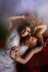 A story of friendship (Keres Jasminka) Tags: amiti fineart portrait femme deux