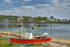 Bailey Island, Maine (pandt) Tags: bailey island cooks lobster house bridge sailboat lobstertraps pots boat ocean sea harbor water hdr maine canon eos 7d flickr outdoor waterfront landscape beach coastal coast newengland