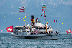 Le Rhne (kalinavo) Tags: 100ansclubnautiquemorges ch che cantondevaud continentsetpays d750 europe evnement genevalake genfersee laclman lakeofgeneva morges nikon personnalits printemps suisse suisseromande switzerland vaud waadt
