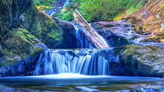 Sweet Creek Falls (pandt) Tags: sweet creek falls mapleton oregon waterfall long exposure slow shutter canon eos 7d landscape outdoor digital flickr serene water flowing nd filter smooth nature stream