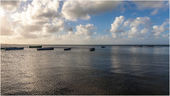 Clouds . (:: Blende 22 ::) Tags: backlight blue sky clouds blauerhimmel water waterwaves boy morning morgens boat boot coindemire mauritius indian ocean indianocean sun sonne indischerozean insel island canoneos5dmarkii ef2470f28liiusm capmalheureux granbaie