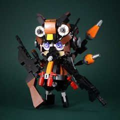 Mercenary-OwlBaby-3 (LEGO 7) Tags: mercenary owlbaby owl lego