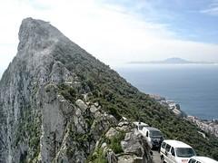 Strait of Gibraltar (OSChris) Tags: gibraltar rock atlasmountains strait morocco