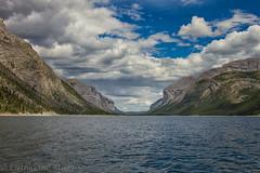 Lake Minnewanka (Cat Starr) Tags: copyrightcatherinestarr alberta canada lakeminnewanka