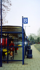 Haverhill bus station February 2001 (The original SimonB) Tags: 2001 film buses transport scanned february haverhill