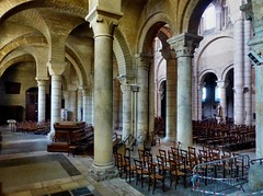 Poitiers - Saint-Hilaire le Grand (Martin M. Miles) Tags: france norman nave moorish vikings 86 vienne vandals poitiers huns poitoucharentes sainthilairelegrand