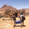 Prepped and ready. Trekking through Mount #Sinai, #Egypt for the next 3 days...
