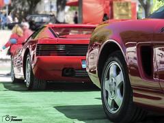 Honda NSX & Ferrari 512 TR (2) (GonzaloFG) Tags: detail slr ford chevrolet car sport skyline honda spain italia nissan evolution ferrari camaro mclaren enzo bmw gto jaguar mustang m3 ducati audi lamborghini rs z1 m6 m5 challenge m4 avant v8 rs2 spotting s2000 e30 nsx gallardo amg vantage drifting rs4 typer gtr trackday murcielago etype quattro gt40 f40 r8 f12 rs6 v12 f50 cosworth nismo e46 r34 e36 berlinetta superleggera 458 899 m3csl desmosedici panigale ftype 275gtb rs3 e92 circuitodeljarama testarrosa stralade m235i
