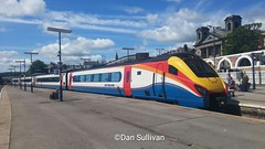 Photo of EMT Meridian 222 009 Seen Here At Scarborough After Completing Her Summer  Saturday Ran From STP . Now She Waits to from the 17:03 back  30/5/15