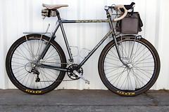 Rambonneur after a good shake down ride. (mapcycles) Tags: paul schmidt components brooks cambium randonneur 650b mafac digicamo bikepacking mapbicycles