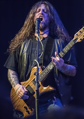 Mike Scheidt of Yob @ WOW Hall (acase1968) Tags: metal oregon photoshop lens ed photography high concert nikon raw iso eugene doom d750 jpg nikkor heavy afs progressive topaz 70200mm cs6 f28g 12800 denoise vrii