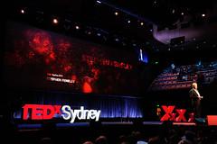 Session 3 host Stephen Feneley   TEDxSydney 2015 (TEDxSydney) Tags: ted sydney australia host nsw venue sydneyoperahouse concerthall session3 tedx tedxsydney tedxsydney2015 stephenfeneley