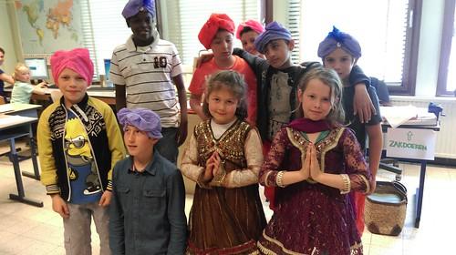 Multicultureel project @ Schakelschool