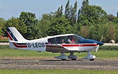 "G-LEOS Robin DR400-120 Sturgate  EGCV Fly In 07-06-15 (PlanecrazyUK) Tags: ""fly in"" sturgate 070615 robindr400120 egcv gleos"