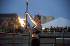 Julia Jerome, Fire Dancer