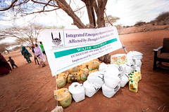 Food Aid Distributed to Kenyans Effected by Drought