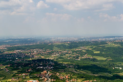 Belgrade from afar (tigot) Tags: sky panorama green tower landscape countryside cityscape rooftops serbia aerial mount belgrade elevation beograd srbija nebo avala toranj pejsaz krovovi zelenilo izvazduha mtavala
